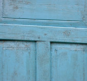 Old wooden  door textured background Royalty Free Stock Photos
