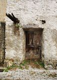 Old Wooden Door in Topolo Royalty Free Stock Image