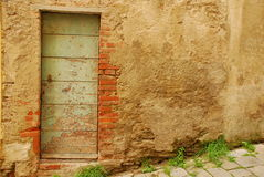 Old Wooden Door in Tuscany 8 Royalty Free Stock Image