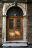 Old wooden door in Venice Royalty Free Stock Photo