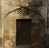 Old wooden door vintage background Stock Image