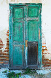 Old wooden door. Stock Photo
