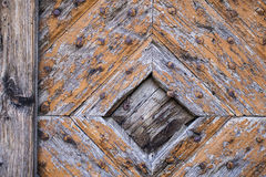Old wooden door in vintage style Royalty Free Stock Photography