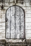 Old wooden door vintage stock photo