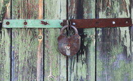 Old wooden doors Royalty Free Stock Photo