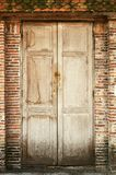 Old wooden doors Royalty Free Stock Photography