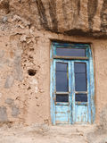 Old wooden doors in Kandovan village in Tabriz, Iran Royalty Free Stock Photography