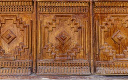 Old wooden doors patterned Stock Photos