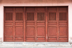 Old wooden doors Stock Images