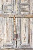 Old wooden doorway Royalty Free Stock Image