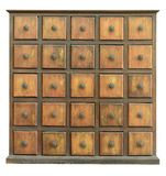 Old Wooden Drawers Royalty Free Stock Photos