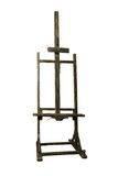 Old wooden easel Royalty Free Stock Photography