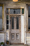 Old wooden entrance door Royalty Free Stock Photography