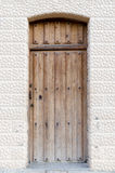 Old wooden entrance door Royalty Free Stock Image