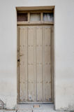 Old wooden entrance door Royalty Free Stock Photos