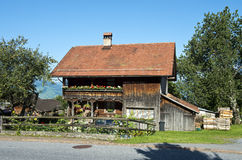 Old wooden farm house Stock Image