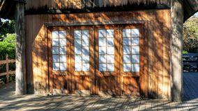 Old Wooden Shed. Royalty Free Stock Image