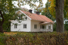 Old wooden farmhouse in Sweden Royalty Free Stock Photography