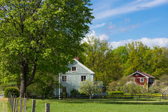 Free Old Wooden Farmhouses In Sweden Stock Photo - 73656760