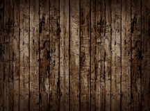 Old wooden fence. Royalty Free Stock Photos