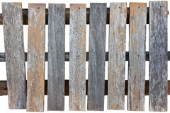 An old wooden fence. Stock Image