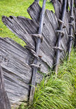 Old wooden fence Royalty Free Stock Photo
