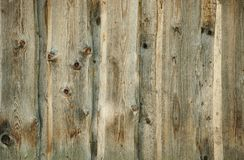 Old wooden fence background Royalty Free Stock Photo