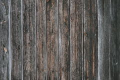 Old wooden fence background crack line. Board Royalty Free Stock Photos