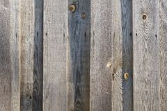 Old wooden fence background Royalty Free Stock Photos