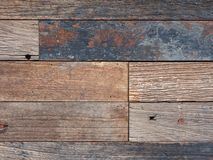 Old wooden fence background. Modern beautiful aged wooden fence background Stock Photo