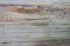 Old wooden fence background. Texture close up Stock Photography