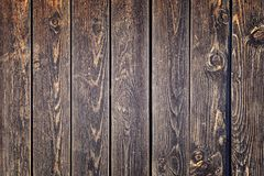 Old wooden fence. Background with wood texture. stock photography