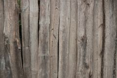 The old wooden fence. royalty free stock photography