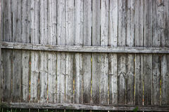 Old Wooden Fence Panels Royalty Free Stock Photo
