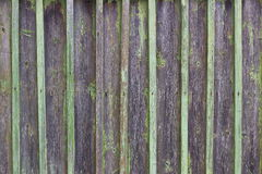 Old wooden fence. In the Russian village royalty free stock photography