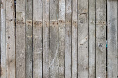 Old wooden fence with rusty nails. Background texture. old wooden fence with rusty nails Royalty Free Stock Photography