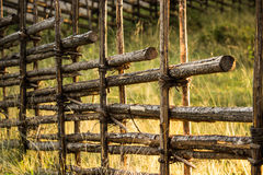 Old Wooden Fence Royalty Free Stock Photography