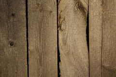 Old wooden fence in warm, late day light Royalty Free Stock Images