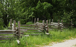 Old wooden fence Royalty Free Stock Images