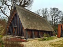 Old wooden fisher church Stock Photography