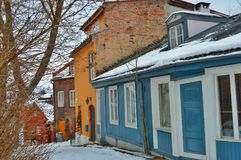 Old town, Oslo royalty free stock images