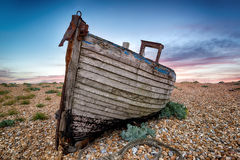Old Wooden Fishing Boat Royalty Free Stock Photography
