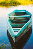 Old Wooden Fishing Boat In River Royalty Free Stock Image