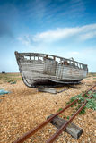 Old Wooden fishing Boat Royalty Free Stock Photos