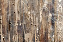 Old wooden flaked background texture.  Royalty Free Stock Image