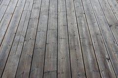 Old wooden floor Stock Images