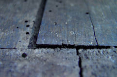 Old wooden floor Royalty Free Stock Photo