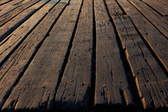 Old wooden floor background Royalty Free Stock Photos