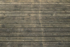 Old wooden floor background. Detail of old wooden floor background Royalty Free Stock Photos