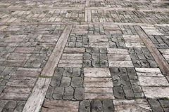 Old wooden floor background Royalty Free Stock Images